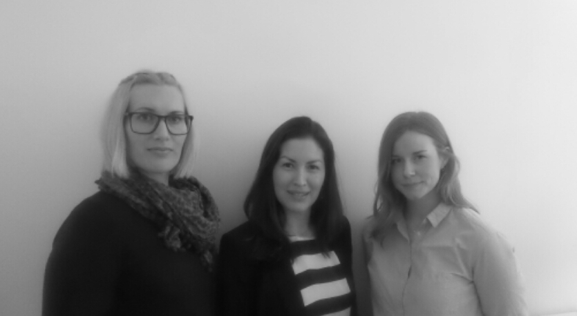 Från vänster: Sandra, Wuendy & Lovisa.