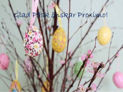 Glad Påsk önskar Proximo!
