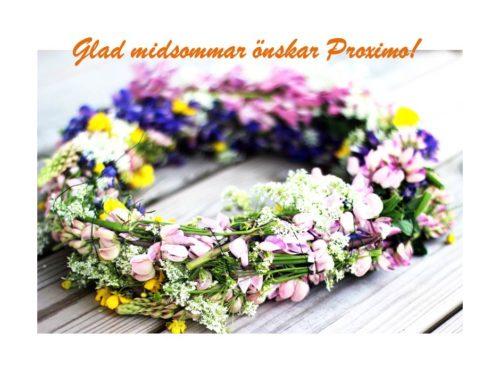 Glad Midsommar önskar vi på Proximo!
